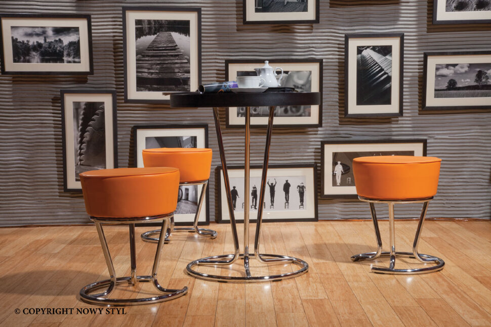 PINACOLADA HOK LIFT CHR(BOX2) V стул барный с регулируемой высотой сидения