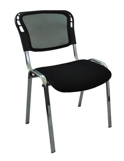 Виси сетка (хром) стул для посетителей